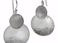 "Showcase: ""Two Moons"" Earrings, E-2C-HM"