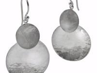 """Showcase: """"Two Moons"""" Earrings, E-2C-HM"""